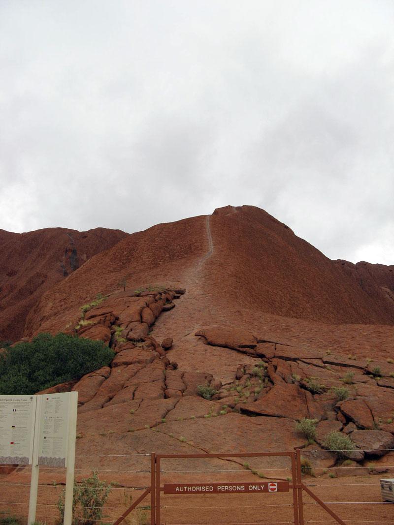 Climb-Uluru